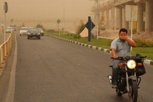 گرد و غبار قم