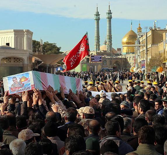 پنج شنبه پیکر ۶ شهید مدافع حرم در قم تشییع میشود