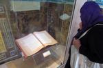 بازدید دو نفر از مسئولان موزه لوور فرانسه از موزه آستان مقدس قم
