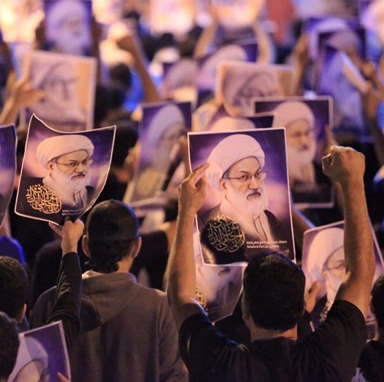 تحصن بحرینیها در اطراف منزل آیتالله قاسم