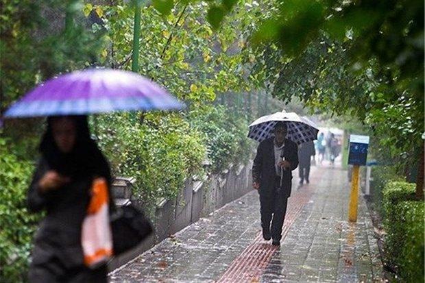 بارش پراکنده باران در استان قم طی روزهای آتی