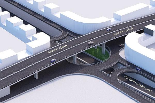 پل سه سطحه محمودنژاد قم