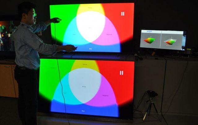 مقایسه تلویزیونهای QLED سامسونگ و OLED الجی