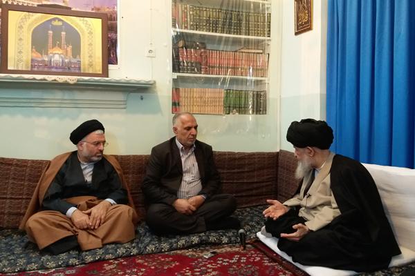 دیدار نوروزی اعضای شورای اسلامی شهر قم