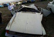 تصادف در اتوبان قم- تهران ۱۴ مجروح برجای گذاشت+ اسامی مصدومان
