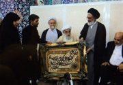 خانواده شهید حججی در نماز جمعه قم تجلیل شدند
