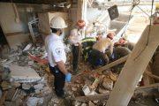 نشت گاز شهری علت اصلی انفجار خانه مسافر آفتاب قم بود