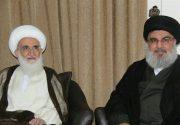 دبیرکل حزبالله لبنان با آیتالله نوریهمدانی دیدار کرد