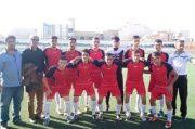 صدرنشینی هنگ در فوتبال جوانان باشگاههای قم