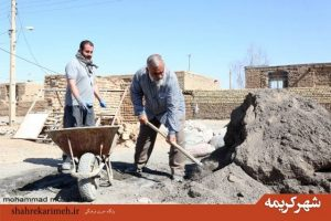 اردوی جهادی با حضور سردار نقدی در روستاهای محروم بخش مرکزی قم