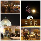 برپایی مراسم جشن آغاز حکومت حضرت ولی عصر(عج)و شکرانه شکست داعش