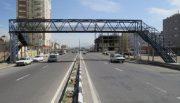نصب ۱۶ پل عابر پیاده جادهای در استان قم
