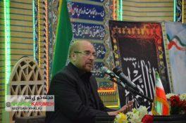 گزارش تصویری/سخنرانی محمدباقر قالیباف در مسجد چهارمردان قم
