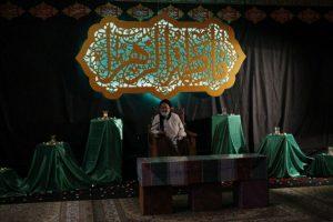 عکس خبری/ مراسم سوگواری هیئت هنر و رسانه قم