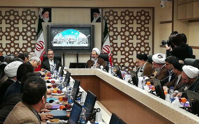 نشست اعضای ستاد همکاری های حوزه های علمیه با وزارت آموزش و پرورش