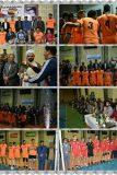 انتهاء مسابقات والیبال جام فجر در رابر