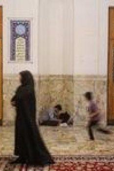آخرین سحر ماه مبارک رمضان در حرم مطهر حضرت معصومه (س)