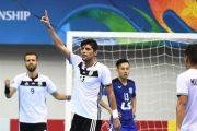 صعود فوتسالیست های قمی به رتبه دوم با برتری برابر ارژن فارس