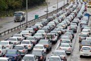 کانون اولنگ –شاهرود مسدود گردید/ ترافیک نمیه سنگین در آزادراه کرج_قزوین