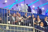 حضور تاج در کنار داورزنی و کاپیتانی ابراهیمی/سر و صدای عجیب هواداران+عکس