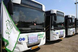 ۱۲ اتوبوس یورو۴ تا ۱۷ فروردین ۹۸ به اتوبوسرانی قم اضافه میشود