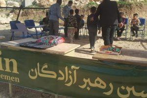 برگزاری اردوی سازندگی و موکب بینالمللی در روستای سواري
