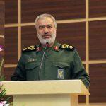 سردار فدوی: ناوهای آمریکا در منطقه تحت کنترل کامل ارتش و سپاه هستند
