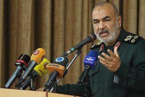 سردار سلامی : در فراز تقابل تمام عیار با دشمن قرار داریم/ رونمایی از بزرگترین سامانه جهادی کشور