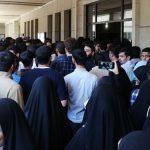 تجمعات دانشجویی در دانشگاه تهران/ حامیان قانون حجاب، مانع ساختارشکنی شدند