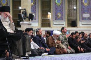 دومین روز مراسم سوگواری امیر مؤمنان در حسینیه امام خمینی(ره) برگزار شد