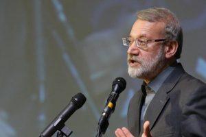 لاریجانی در پیش خطبه نمازجمعه: طرح «معامله قرن» روحیه دلال مآبانه آمریکا را نشان میدهد