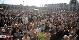 حاشیهنگاری از نماز عید