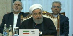 روحانی در نشست شانگهای:  آمریکا به طور یکجانبه از برجام خارج شده و دیگر کشورها را نیز تهدید میکند