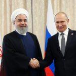 روحانی و پوتین درحاشیه اجلاس شانگهای دیدار و گفتوگو کردند