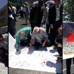 امضای طومار در محکومیت خباثت طرفهای برجام/ تاكيد بر عدم هر گونه مذاكره جديد