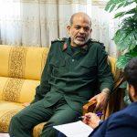 سردار وحیدی: شکست رژیم صهیونیستی در دوران آیتالله خامنهای رقم خورد/ پیگیری پروژههای دفاعی توسط رهبری