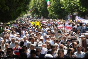برگزاری راهپیمایی یومالله ۱۵ خرداد در قم / تجدید بیعت با آرمانهای امام راحل و مقام معظم رهبری