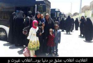 گزارشی از حال و هوای طلاب جامعهالزهرا(س) هنگام اعزام به مرقد امام(ره)