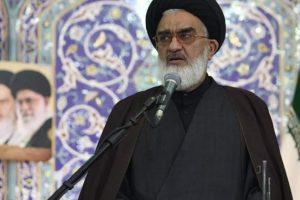امام جمعه قم: موضع ملت ایران «مرگ بر آمریکا» است
