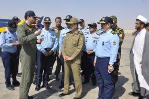 فرمانده کل ارتش از پایگاه شکاری شهید بابایی بازدید کرد