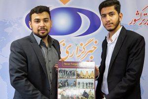 تابلوی «حقارت سربازان انگلیسی» رونمایی و به سفارت بریتانیا ارسال شد