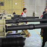 بازدید وزیر دفاع از خطوط تولید خمپاره انداز میثاق و هویتزر