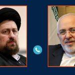 سیدحسن خمینی: دود تحریم ظریف به چشم خود آمریکاییها خواهد رفت