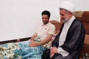 رئیس کمیسیون امنیت ملی مجلس از عکاس قمی عیادت کرد