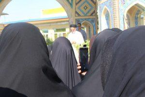 خروش بانوان طلبه در یوم الله 13 آبان