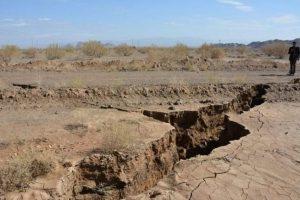 فرونشست زمین از مخاطرات اصلی استان قم است