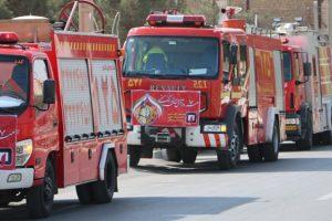آمادهباش آتشنشانی برای تامین ایمنی مراسم تشییع سردار سلیمانی