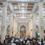 بزرگداشت شهدای سانحه هوایی در مسجد اعظم قم