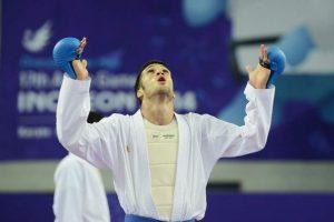 حذف زودهنگام «امیر مهدیزاده» در لیگ جهانی کاراته پاریس
