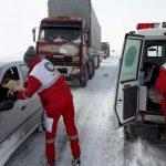 امدادرسانی به ۲۵۹۰ نفر توسط هلال احمر قم